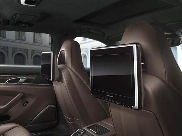 Porsche 4 Door Models Offer Rear Seat Entertainment Kelley Blue Book